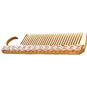Birch Wood Hair Comb
