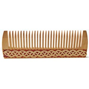 Birch Wood Hair Comb – Small
