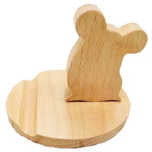 Wooden Figurine – Phone Holder
