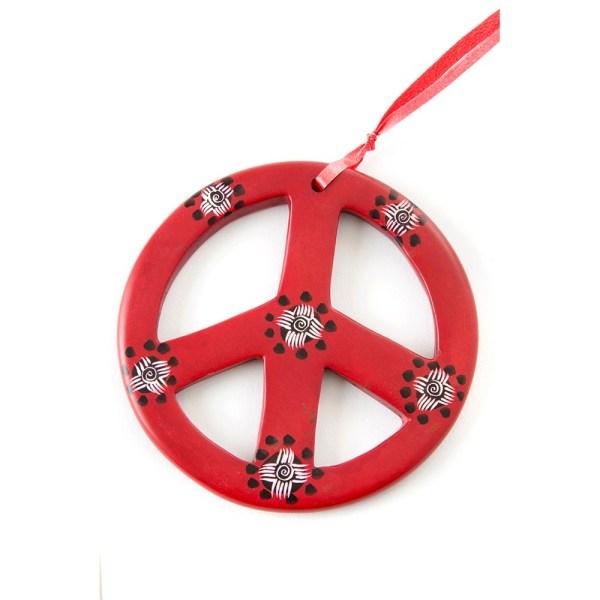 Soapstone Peace Sign