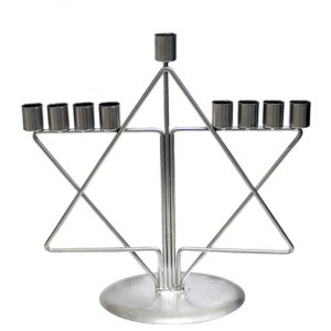 Hanukkah Menorah – Star Of David Design