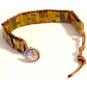 Light Brown stone bracelet