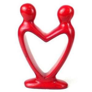 """Lover's Heart"" Soapstone Sculptures"