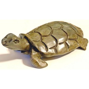 Stone Turtle Sculpture