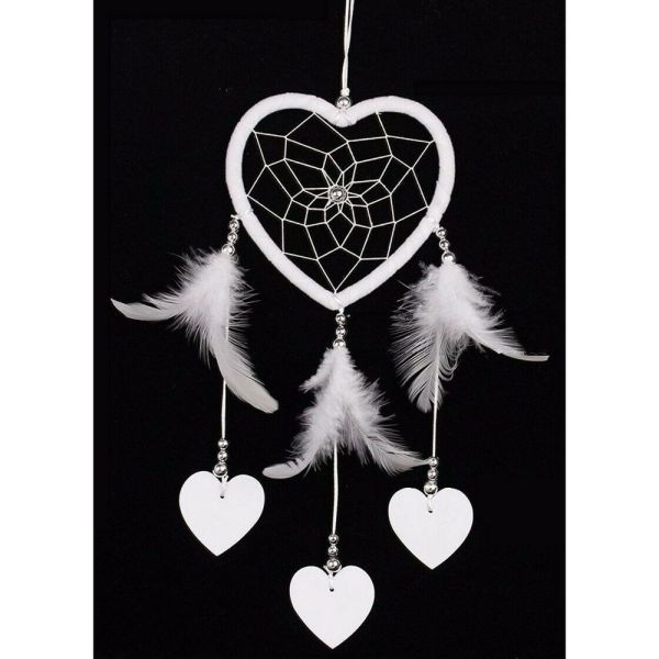 Dreamcatcher with White Feather