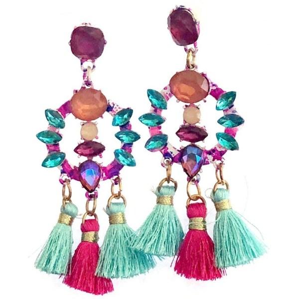 Bohemian Colorful Earrings