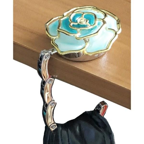 Folding Handbag Hanger - Rose