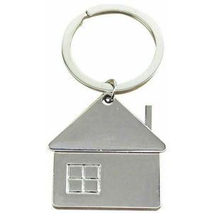 """House"" Metal Key Chain"