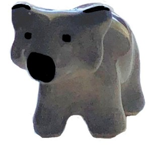 Ceramic Bear Mini Sculpture