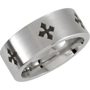 Ring – Cobalt and Stainless Steel Satin Finish