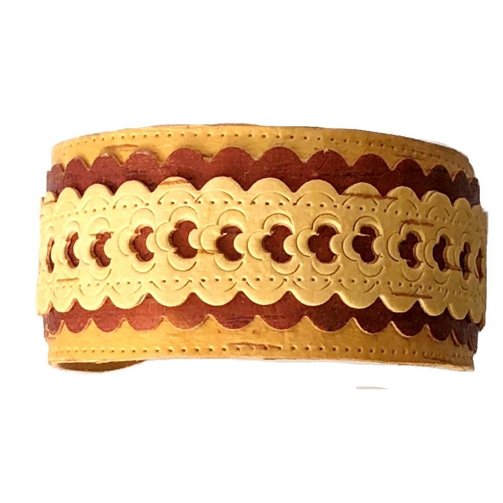 Birch Bark Bracelet - Elegant Layers