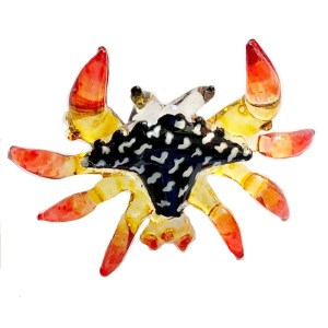 Glass Crab – Orange