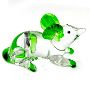 Glass Mouse – Green