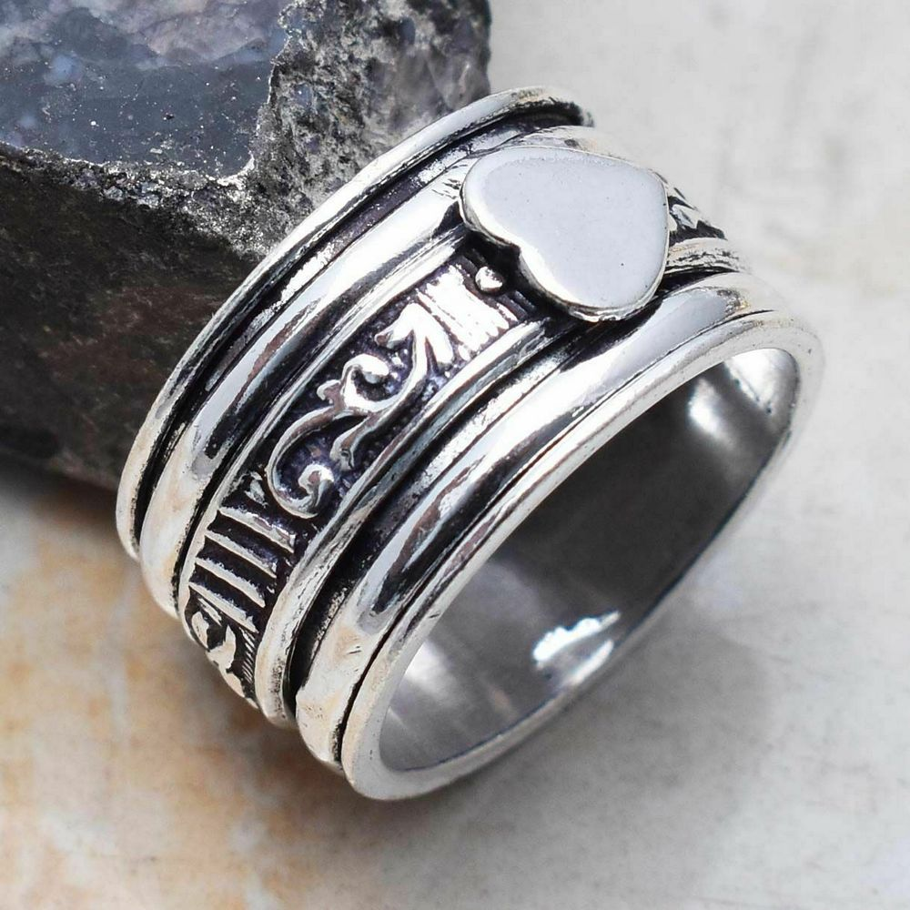 Ring - Silver Spinner