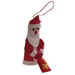 Felted Santa