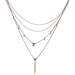 Necklace – Golden Color 4 Layers