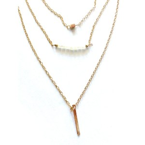 Necklace – Golden Color 3 Layers