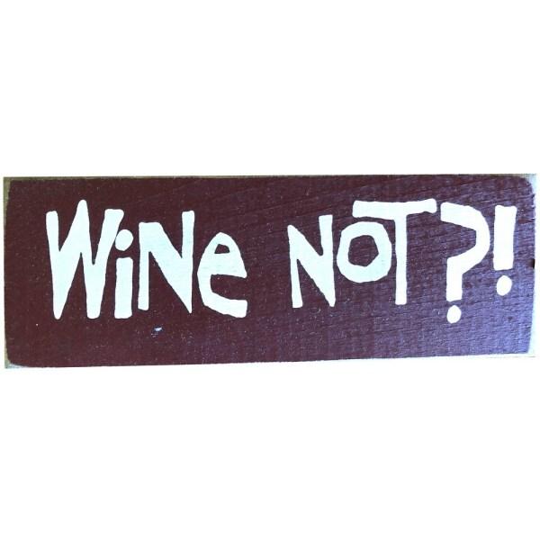 Wood Rustic Tile - Wine Not?!
