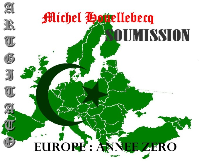 Image result for soumission (soumission) michel houellebecq