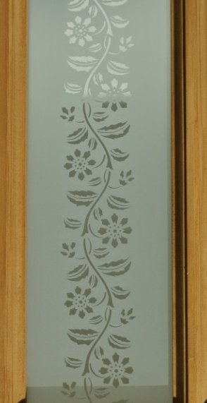 Decourative Door Glass Corner And Side Pannel Coloured Glass Options