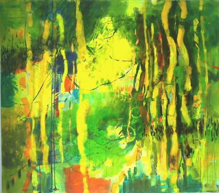 Wald 1 160 x 140 cm