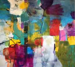 Think big - dream in color 160x140 cm