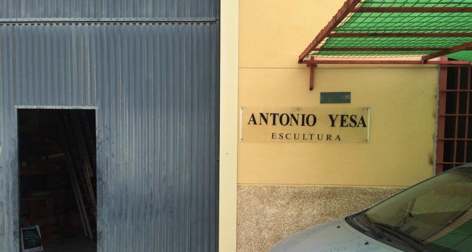 Visiting Art: Antonio Yesa, a very actuell memory – eine ganz aktuelle Erinnerung – un recuerdo muy reciente