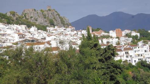 Gaucín with castle