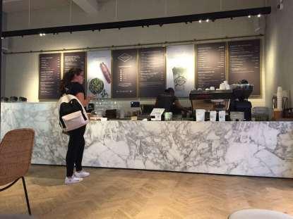 posh coffee bar