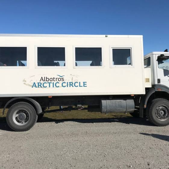 Transportationto the inland iceshield near Kangerlussaq