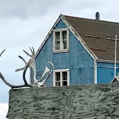 Greenland house decoration