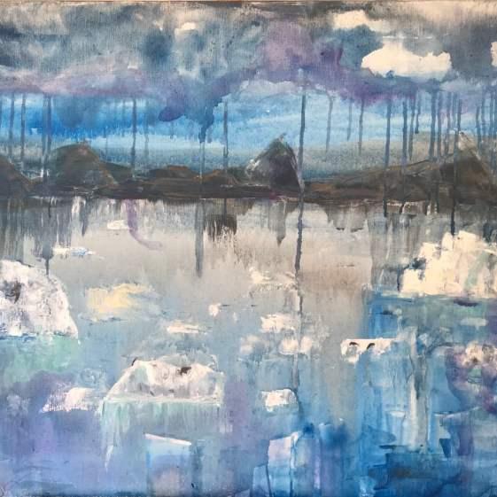 Greenland blues 81x65 cm