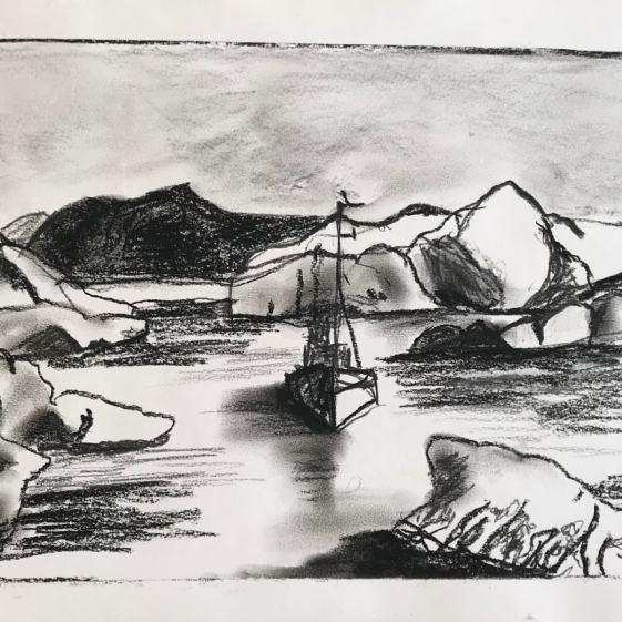 Greenland Sketch 2