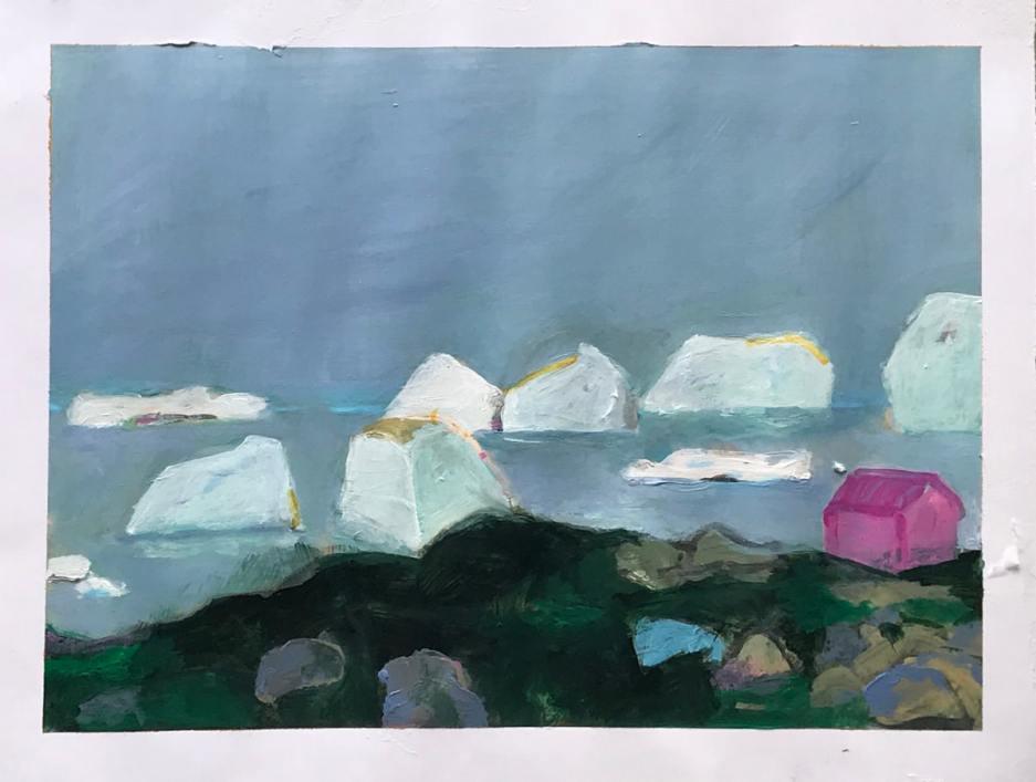 A little Greenland Series – eine kleine Grönland Serie -Una pequeña serie de Groenlandia.