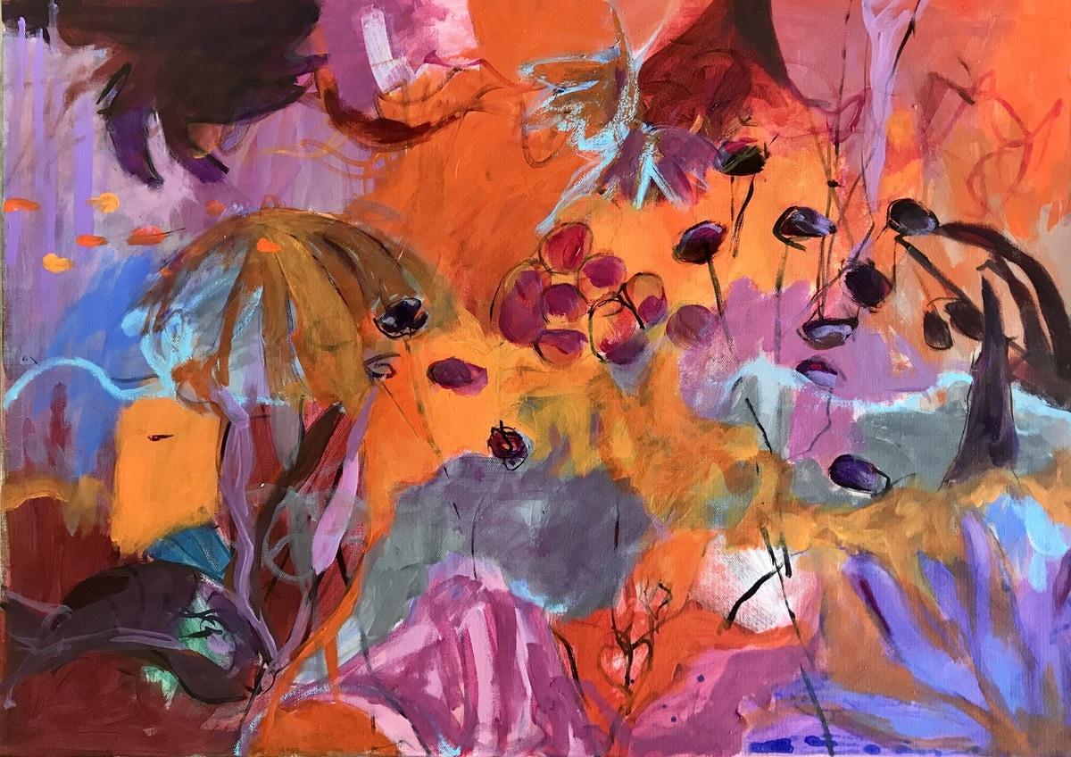 Painting Wonderworld by Gerrit Oppelland-Hampel