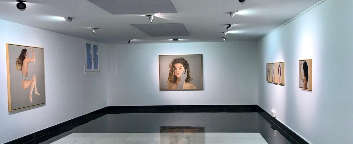 Exhibition by Pablo Mercado im Galeria Isolina Arbulu in Marbella