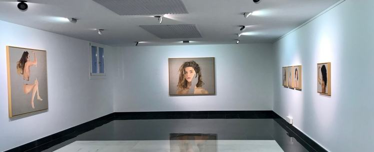 Exhibition by Pablo Mercado im Galeria Isolina Arbulu in Marbella