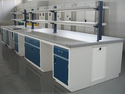 Furniture Laboratorium Island Bench Meja Tengah Lab