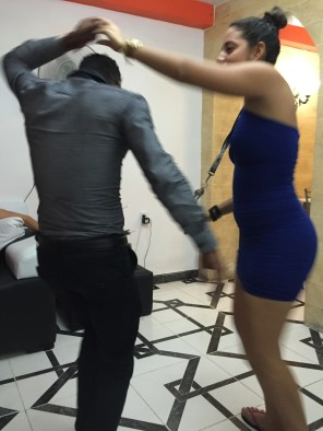 Home party dance