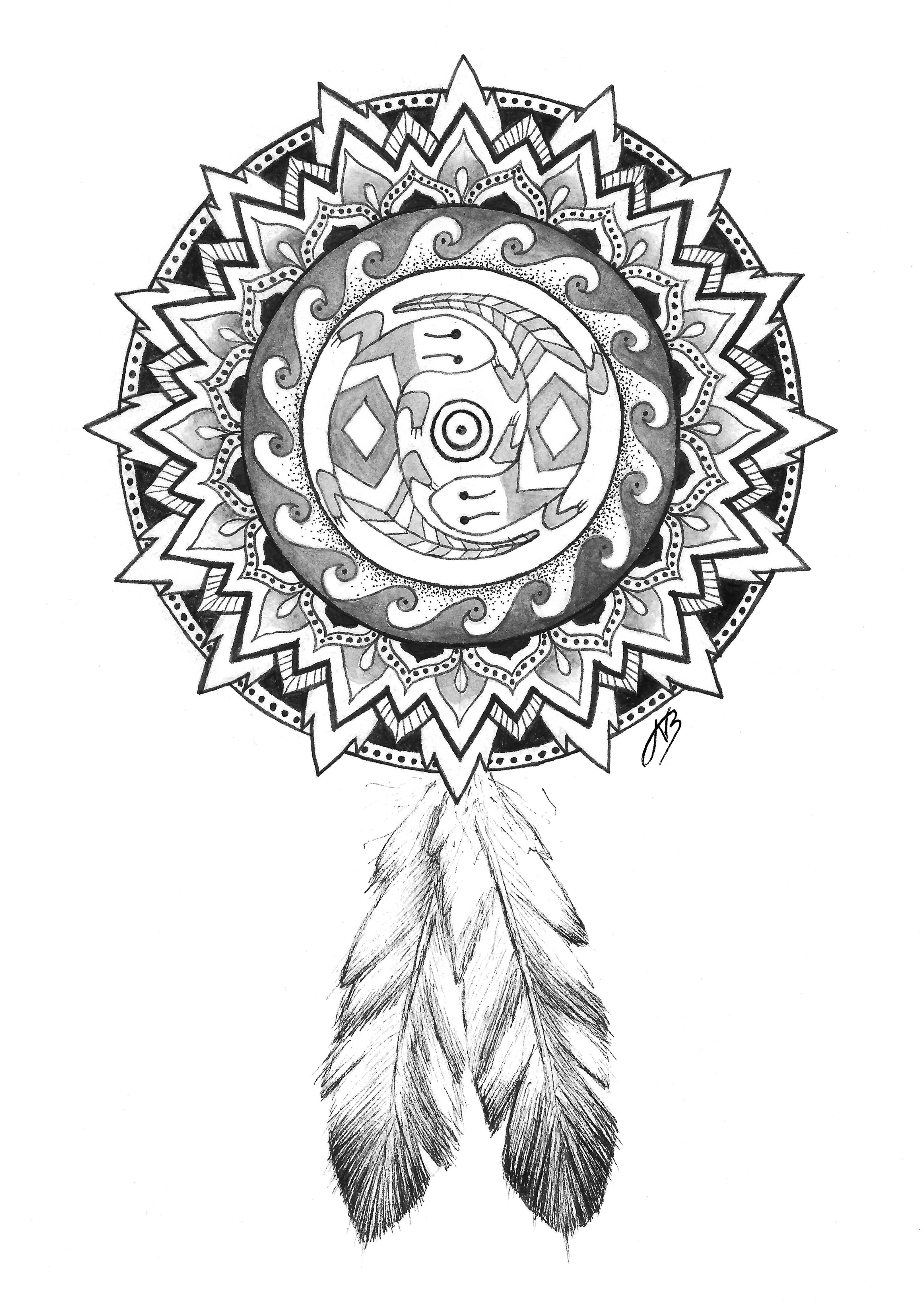 4 Elements Mandala