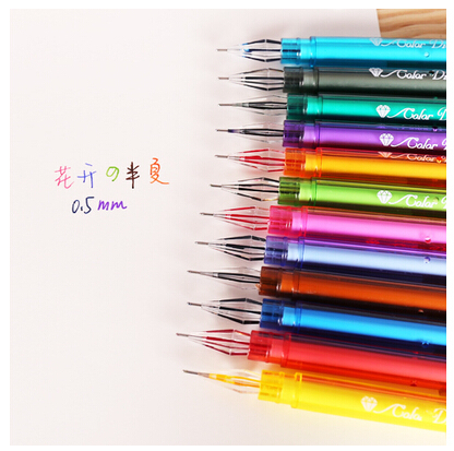 12-color-diamond-Gel-pen-Cute-pen-Stationery-Novelty-gift-Office-material-school-supplies-crystal-diamond