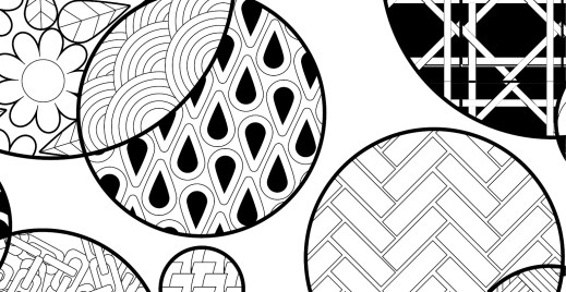 Coloriage gratuit, zentangle 3 mai