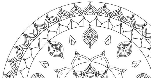 Coloriage mandalas gratuit, 19 avril - Artherapie.ca