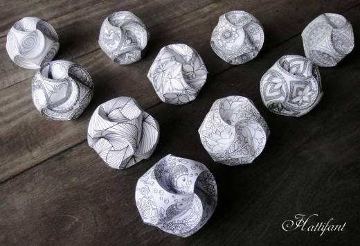 La découverte des globes Triskele