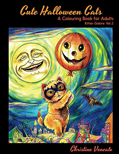 Livre Cute Halloween Cats par Christine Vencato GRATUIT