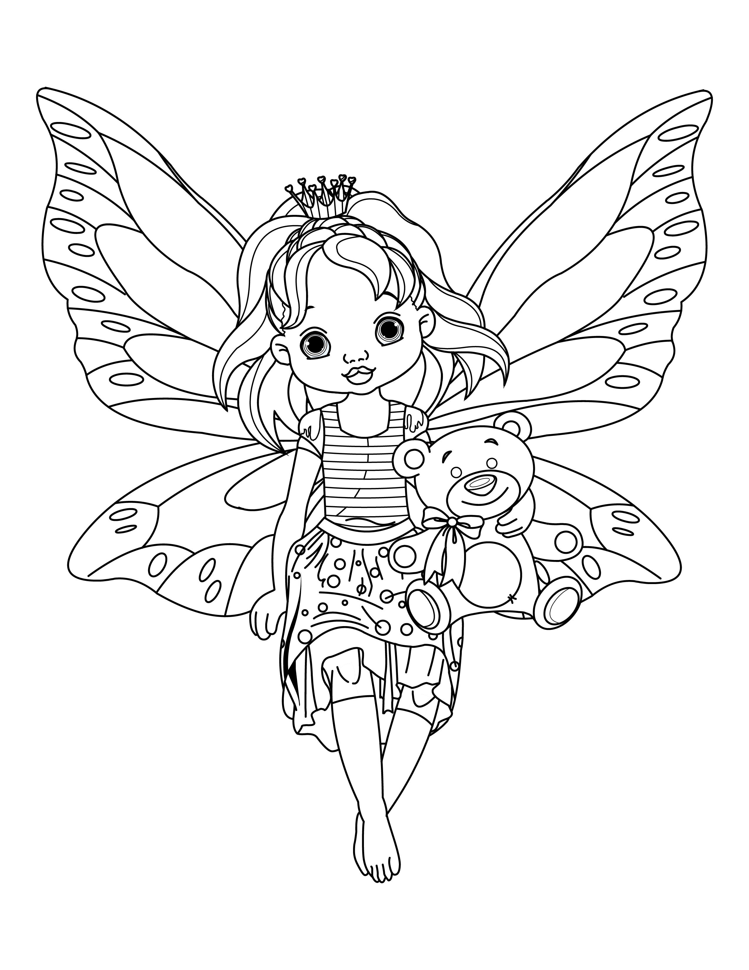 Meilleur de dessin a imprimer gratuit de fee clochette - Clochette coloriage ...