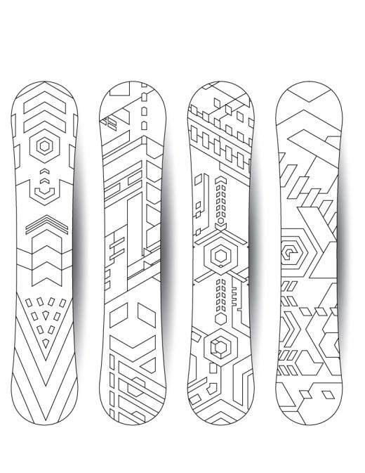Snowboarding basics sport hiver planche à neige