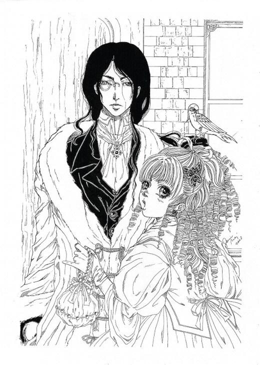 Christian et Charlotta coloriage par Dar-Chan
