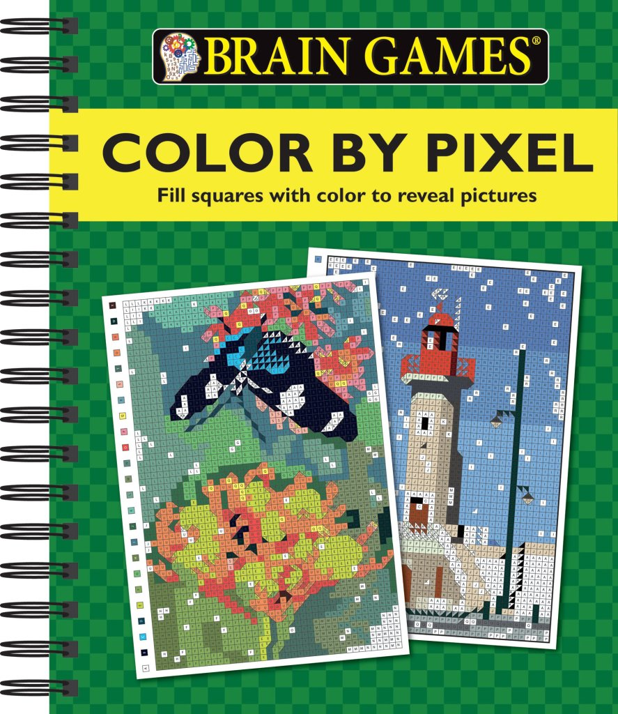 Brain Games Color By Pixel