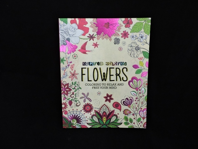 Critique du livre Inspired Coloring Flowers